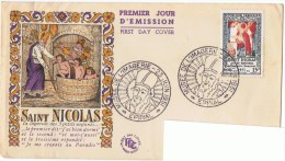 """23/6/1951 - FDC - Musée De L ´Imagerie """"Saint-Nicolas"""" - Oblit. Ill. Musée - 88 EPINAL - Yvert Et Tellier N° 904 - FDC"""