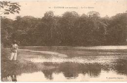 GUYANE   CAYENNE  Le Lac Rorota écrite TTB - Cayenne