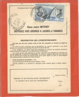 FRANCE PA44 SEUL SUR ORDRE REEXPEDITION DES CORRESPONDANCES VILLENEUVE LE COMTE 29/6/77 - Postmark Collection (Covers)