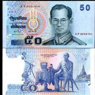 THAILAND   50 BAHT ND 2009 Unc - Tailandia