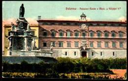 Palermo, Sicilia, Sicily - Palazzo Reale E Mon. A Filippo - Palermo