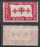 Brazil Brasilien Mi# 390 ** MNH COLUMBUS 1933 - Brazil