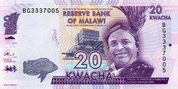 MALAWI 20 KWACHA 2012 NEW UNC - Malawi