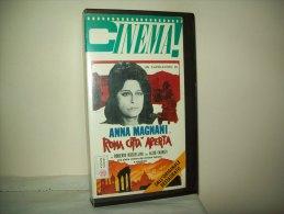"""Film In Videocassetta  """"Roma Città Aperta"""" Con Anna Magnani E Aldo Fabrizi - Storia"""