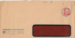 DR 469 EF Auf Brief Der Fa. Johannes Holzhauer, Konservenfabriken, Stempel: Frankfurt 25.4.1933 - Duitsland