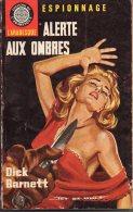 Alerte Aux Ombres Par Dick Barnett   - L´arabesque Espionnage N°446 - Illustration : Jef De Wulf - Editions De L'Arabesque