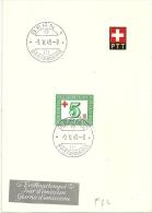 """ET PTT Bögli  """"Sondermarke Schweiz. Rotes Kreuz""""        1945 - FDC"""