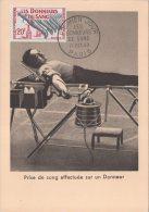 Fdc Don Du Sang 17 Octobre 1959 - 1950-59