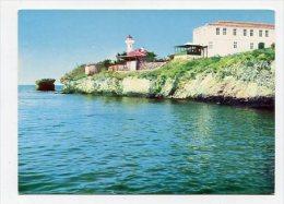 BULGARIA - AK 163415 Burgas - Die Insel Bolschewik - Bulgaria