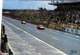 (100M) France - Le Mans Racing Circuit - Voiture De Sport - Passage Devant Les Tribunes - 1966 - Unclassified