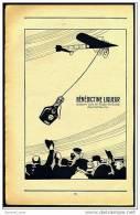 Reklame Werbeanzeige Von 1914 -  Benedictine Liqueur  -  Erobert Sich Im Fluge Die Gunst Des Publikums - Alkohol