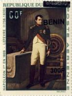 bn0938 Benin 2009 OVPT Painting Napoleon
