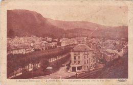 Cp , 63 , LA BOURBOULE , Vue Générale Prise Du Pied Du Puy Gros - La Bourboule