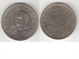 *philippines 25 Centavos 1981  Km 227  Unc - Philippines