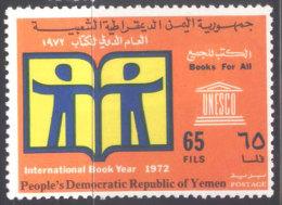 YEMEN   PDR - UNESCO - BOOK YEAR  - 1972 - MNH** - UNESCO