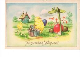 C P S M ---C P M -THEMES-----FETES------JOYEUSES PAQUES------2 Scans - Easter
