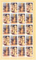 2013. Transnistria,  A. Lutickov, Grand Chess Master, 1 Sheetlet, Mint/** - Echecs