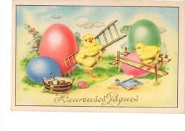 C P S M ---C P M -THEMES-----FETES-----HEUREUSES PAQUES------2 Scans - Easter