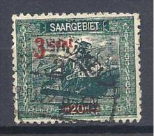 SARRE YVERT N� 69 OBL TTB