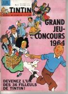 TINTIN   N° 810  - HERGE  -   DARGAUD -   AVRIL 1964 - Tintin