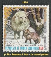 1976 - Afrique - Guinée équatoriale -  0.30 Pta. Le Renard Polaire - - Stamps