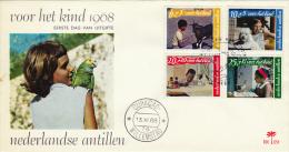 FDC  E48  Voor Het Kind 15/11/1968 - Niederländische Antillen, Curaçao, Aruba