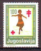 Yugoslavia 1979 Y Charity Stamp Red Cross Tuberculosis Mi No 67 MNH - Non Classés