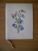 Calendario/almanacco Incisione Colorata A Mano (fiori). 1950. Editrice LA CONTEMPORANEA Milano - Calendari