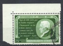 Haiti,1956, MiNr.464,Gest. Mit Rand Zustand: I-II - Haiti