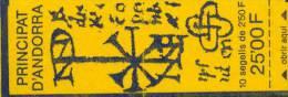 Carnet Neuf ** N° 4(Yvert) Andorre 1991 - 10 Timbres N° 409 Blasons - Carnets