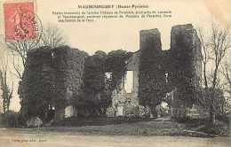 Hautes Pyrenees -ref A471- Maubourguet - Chateau De Parabere Pres De Larreule  -carte Bon Etat - - Maubourguet