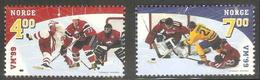 Norway Norge Norwegen 1999 Mi 1310 /1 SG 1337 /8 **World Ice Hockey Championschips, Norway / Eishockey-Weltmeisterschaft - Hockey (su Ghiaccio)
