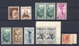 Italia Repubblica Lotticino Di Filigrane Lettere **/*-MNH/MH - Verzamelingen