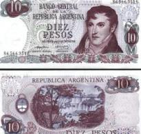 Argentina #295, 10 Pesos, ND (1973-76), UNC - Argentinien