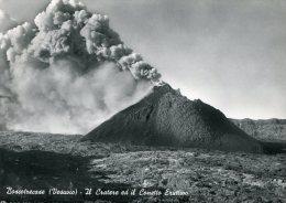 CP-Italie-1958-Vesuve-le Cratère Et Le Petit Cône éruptif - Napoli (Naples)