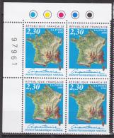 N° 3259 Philexfrance 99 : 150ème Anniversaire Du 1er Timbre-Poste Français: Bloc De 4 Timbres - Francia