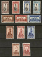 EGYPT 1927, 1928, 1929, 1931 SETS SG 173/184 MOUNTED MINT Cat £18.50 - Unused Stamps