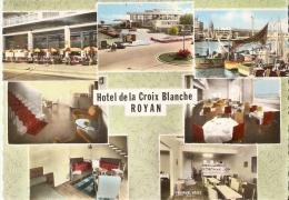 ROYAN......HOTEL DE LA CROIX BLANCHE.....7 VUES........14 X 9 - Hotels & Restaurants