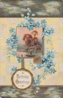 EMBOSSED BIRTHDAY CARD - Postcards