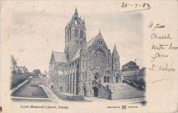 PAISLEY - COATS MEMORIAL CHURCH - Renfrewshire