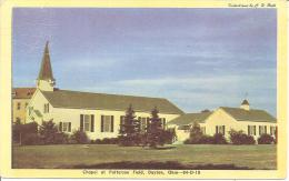 CHAPEL AT PATTERSON FIELD ,DAYTON,OHIO ,COULEUR  REF 33784 - Dayton