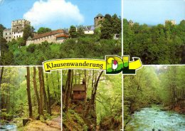 Österreich; Steiermark Burg Deutschlandsberg Mehrbildkarte Klausenwanderung - Deutschlandsberg