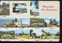 L5512 Panorama Du Cameroun - Mont-Cameroun, Douala, Yaoundé. Dschang, Kapsiki, Maroua, Waza - Camerun