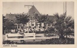 AK Zoppot Kurhaus Gelaufen 26.8.37 - Danzig
