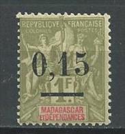 "Madagascar YT 55 "" 0.15 Sur 1F. "" 1902  Neuf** - Oblitérés"