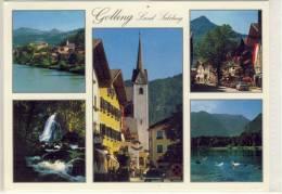 GOLLING   Im  Salzburger Land, Mehrbildkarte - Golling