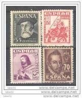 ES1033-L1903TSC.España.Spain.Espagne.Personajes .1948.(Ed 1033/6**)sin Charnela. LUJO - Sin Clasificación