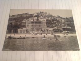 GROTTAMMARE - Paese Alto Visto Dal Mare - Cartolina FG BN V 1960 - Andere Städte