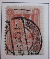 Briefmarke 1920 Marienwerder Gestempelt Freimarke 20 Pf. Abstimmungsgebiete - Abstimmungsgebiete