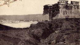 LA  CIOTAT    VUE  DE  L  ILE  VERTE   1921   CACHET  CONVOYEUR  MARSEILLE  A  TOULON - La Ciotat